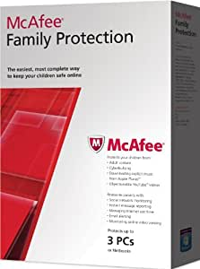 McAfee Family Protection 2012, 3 PC's, 12 month Subscription (PC)