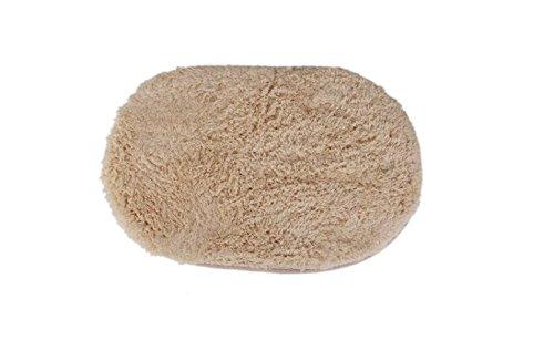 Zdan.uu Oval en Forma de Cordero Felpa baño de Felpa Alfombra pequeñ