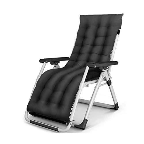 GJZM Silla reclinable Plegable, Gravedad Cero Multiuso Plegable reclinable para Patio Terraza Sun Beach Hamaca Cubierta Libre de la Siesta...
