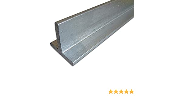 // 5 mm S235 1.0038 ST37 B/&T Metall Stahl T-Profil VERZINKT 30 x 30 x 4 mm gleichschenklig in L/ängen 2000 mm T-Tr/äger T 30 feuerverzinkt