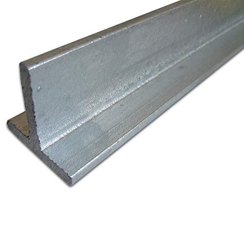 B&T Metall Stahl T-Profil VERZINKT 40 x 40 x 5 mm gleichschenklig in Längen à 1000 mm +/- 5mm S235...