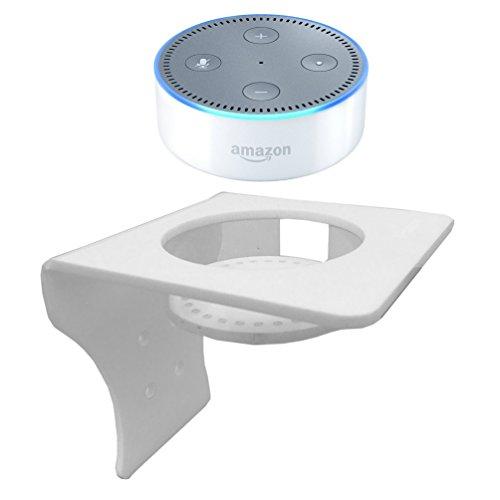 Preisvergleich Produktbild x-super Wandhalterung Ständer für Amazon Echo Dot Alexa Halterung (passend für Echo Dot 2 nd & 1. Generation)