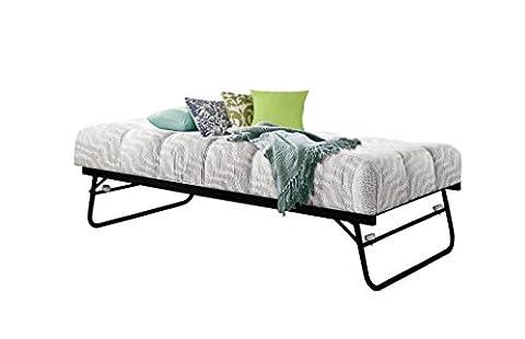 Birlea Furniture Trundle Metal Trundle Bed, 3 ft, Single,