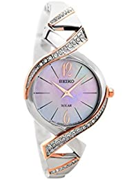 Seiko Ladies Solar Two Tone Watch