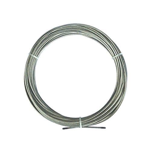 Metall 20 Stück vernickelt Flairdeco Seilklammern für Seilspanngarnituren