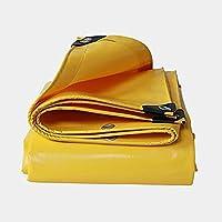 lonas Lona impermeabilizante resistente al agua - Lona de lona amarilla - Lona de cobertura de calidad superior 0.05mm -500g / m² 22 tamaños (Color : Amarillo-2x 2m)