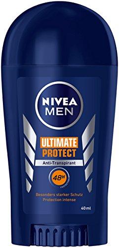NIVEA MEN Ultimate Protect Deo Stift im 6er Pack (6 x 40 ml), Antitranspirant Stick mit besonders starkem Schutz, Deodorant mit 48h Schutz