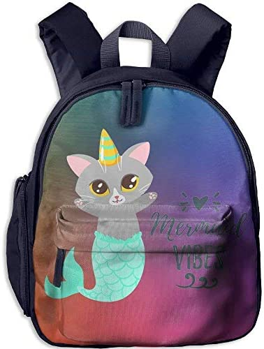 Kindergarten Boys Girls Girls Girls Backpack Cat Mermaid School Bag | Germania