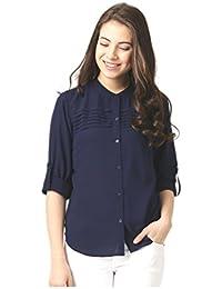 138c3982b81d9 Marie Claire Women s Shirt (Blue