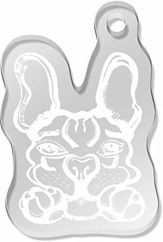 french-bulldog-shaped-frost-engraved-keyring-ak00025442
