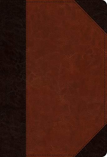 ESV Student Study Bible: English Standard Version, Trutone, Brown/Cordovan,  Portfolio