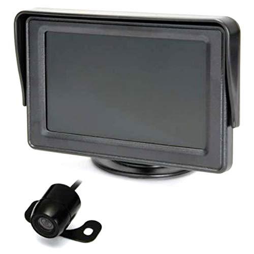 SODIAL 4,3 Zoll 480 X 272 Tft LCD Monitor Mit 2 Wege Av Eingang, Drahtlos Video übertragen + Mini Kamera Kit
