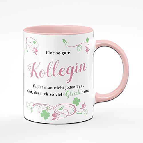 Tasse Eine so Gute Kollegin Findet Man Nicht Jeden Tag - Bürotasse - Kaffeetasse - Ideale Geschenk für Arbeitskollegin, Deine Lieblingskollegin - Geschenk für Kollegin