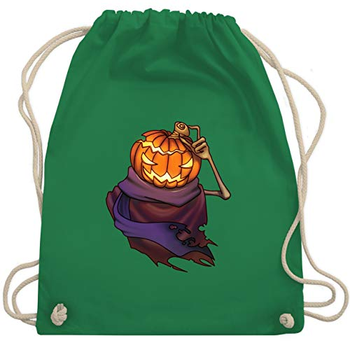 (Halloween - Kürbiskopf - Unisize - Grün - WM110 - Turnbeutel & Gym Bag)