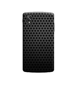 Ebby Premium Designer Back Cover for LG Nexus 5 (Designer Case)
