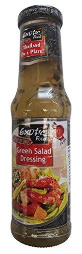 Exotic Salad Dressing - Green, 250g Bottle