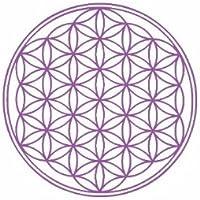 Blume des Lebens - Aufkleber heilige Geometrie, violett mit 9,5 cm preisvergleich bei billige-tabletten.eu