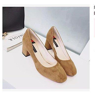 Zormey Frauen Heels Schuhe Kundenspezifische Materialien Büro & Amp; Karriere Casual Hell Braun Rot Rosa Schwarz 39