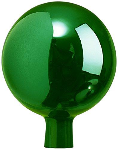 Windhager Rosenkugel, Gartenkugel, Sonnenfänger-Kugel, Glas-Deko für Garten und Terrasse, mundgeblasen, GRÜN, 12 cm, 07804