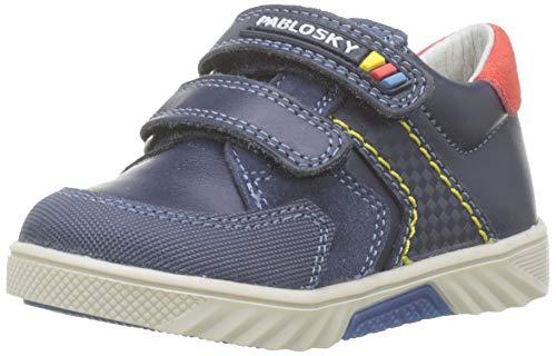 Pablosky 063132, Zapatillas de Estar por casa para Bebés, Azul Azul Azul, 21 EU