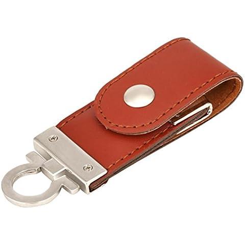 Venta Caliente, Oyedens USB 2.0 De La Moda Del Cuero Palillo De Memoria Flash De Almacenamiento De Disco U