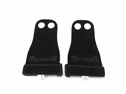 MACCIAVELLI-Pull-Up-Grips-Hand-Grips-Wodies-Gloves-Calisthenics-Crossfit-Freeletics-Gymnastics-Black-Medium