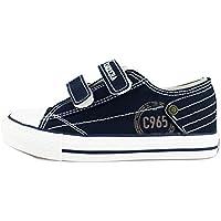 Carrera Jeans Sneakers Niños Azul/Rojo Lona (33 EU, Azul)