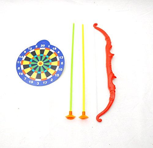 10 X Pfeil und Bogen Kinder Set + Zielscheibe Kindergeburtstag Bogenschießen by Schenkfix