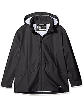 Helly Hansen Jr Voss Jacket Abrigo, Niños, Negro, 16 años (Tamaño del Fabricante:16)