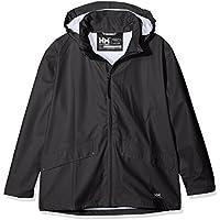 Helly Hansen Jr Voss Jacket Abrigo, Niños, Negro, 10 años (Tamaño del fabricante:10)