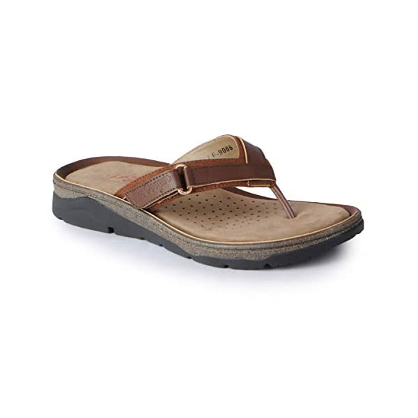 Lee-Cooper-Womens-Tan-Flats-Sandals