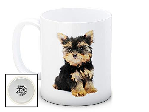 Yorkshire Terrier Yorkie Yorky Hund Puppy - Hochwertigen Kaffee Tee Tasse