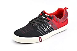 Lee Cooper Mens Red_Black Nordic Walking Shoes - 7 UK/India (41 EU)(LC3629)