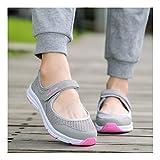 YAYADI Frau Casual Schuhe Trend Sneaker Für Damen Schuhe Damen Schuhe Sommer Plattform Atmungsaktive Modische Freizeitschuhe, Wie Gezeigt, 37