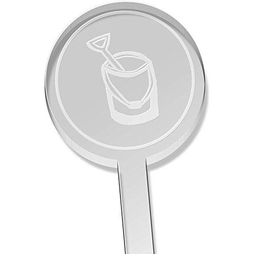 Azeeda 10 x \'Eimer & Spaten\' Kurz Trinken Sie Rührer (DS00006688)