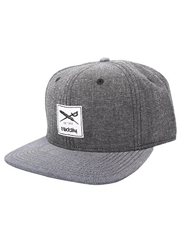 Iriedaily Flag Chambray Snapback [Black]