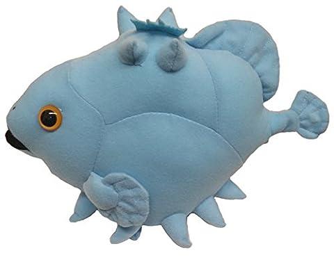 Profonde Créature mer Ox-eyed Oreo Poisson Plush (Bleu / 26 cm)