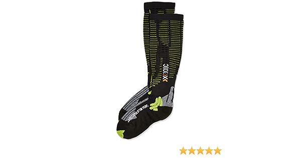 X-SOCKS Functional Socks Prec Uperation Multi-Coloured Black//Acid Green