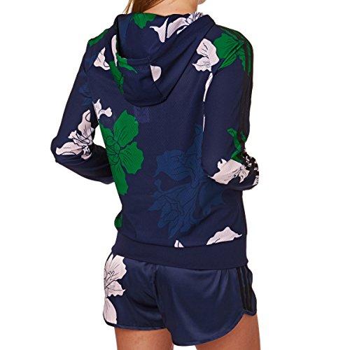 adidas Femme Hauts / Sweat à capuche zippé Light Bleu