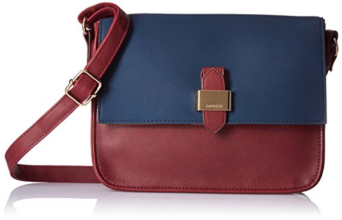 Caprese Mereen Women's Sling Bag (Burgundy Teal)