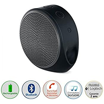 Logitech X100 Wireless Bluetooth Speakers (Black/Grey)