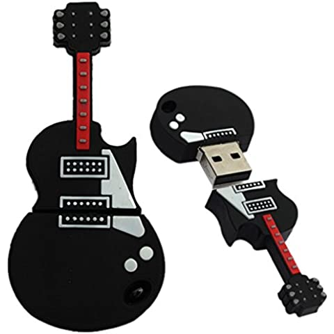 Tonsee Mode U Disk Pendrive Cartoon musikalische Gitarre musikalische Hinweis Stift Treiber 4GB8GB 16 GB 32GB Usb flash