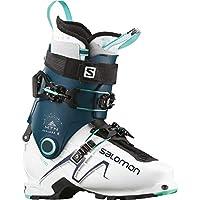 Salomon MTN Explore - Botas de esquí para Mujer, Color Blanco, Azul Gasolina, Azul Aruba, 25,5