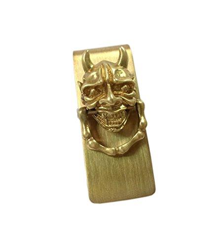 Premium Fantastische einzigartige Geld-Clips Metall Geld-Klipp-Kreditkartenhalter-Geld-Mappen Copper Clip Geld Clip Brieftasche in Gold- - Brieftaschen, Geld Clip Brieftasche