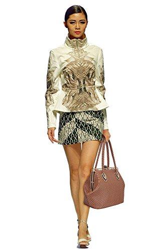 LeahWard® Femme Plus detaille Sac Sélection Du Défilé Qualité Chic Beau Sacs À Main Tote Sac Betoulière Sac CWS00241 CWS00440 red