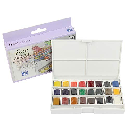 Zoom IMG-2 lefranc bourgeois acquerelli scatola da