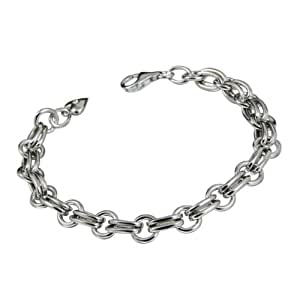 Hot Diamonds 0.01 Carat Diamond Charm Bracelet in Sterling Silver
