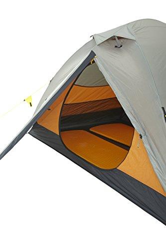 Wechsel tents EXTREM ZELT   Charger Travel Line   Profi Kuppelzelt   spezielle Gestängeverbindungsknoten für eine HOHE Stabilität   2 Personen Geodät   auch ohne Innenzelt nutzbar   Farbe: braun - 2