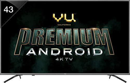 VU 108 cm (43 Inches) 4K Ultra HD Smart LED TV 43 OA (Silver) (2019 Model)