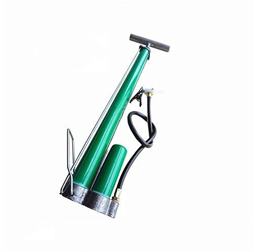 RUIX Hochdruck Standpumpe (Fahrradpumpe, Luftpumpe Für Fahrrad Und Für Luftmatratze) Hochdruck Standpumpe ,Green